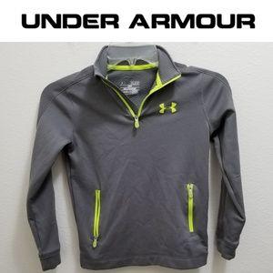 (NWOT) UNDER ARMOUR BOY'S YSM Half-Zip Pullover